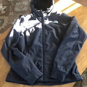 North Face women's hooded jacket